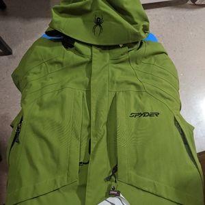 Spider snowboarding jacket